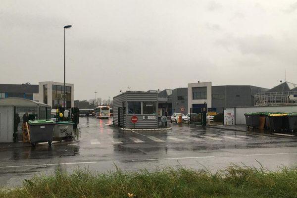 Le barrage a été levé vers 9h30 au dépôt Tisséo d'Atlanta à Toulouse.