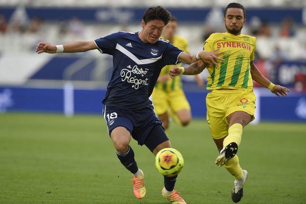 Les girondins ont joué à 10 contre 11 face à Nantes pendant 75 minutes lors du match de reprise de la Ligue 1 après 5 mois d'arrêt de la compétition.