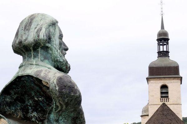 Gustave Courbet est né le 10 juin 1819 à Ornans dans le Doubs.