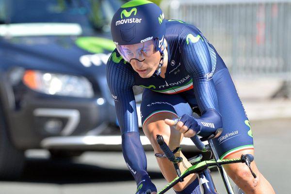 L'Italien Adriano Malori (Movistar) a pris la tête du classement général du Circuit de la Sarthe Pays de Loire