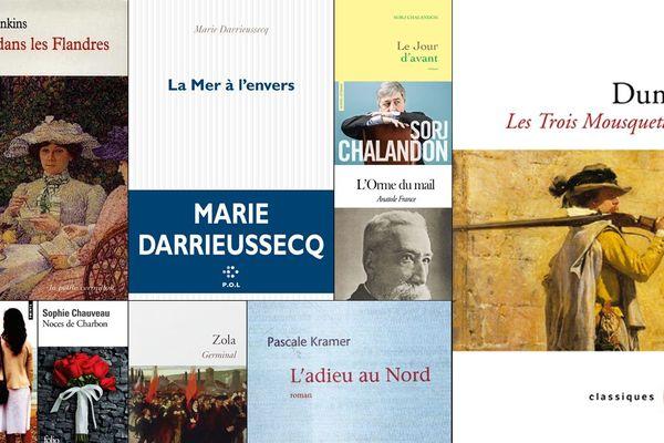Quelques romans dont l'action se passe dans le Nord Pas-de-Calais