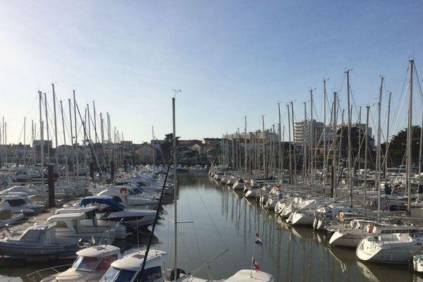 L'activité des ports de plaisance (ici celui de Saint-Gilles-Croix-de-Vie) n'en sera pas chamboulée en cette période où les sorties sont peu nombreuses.