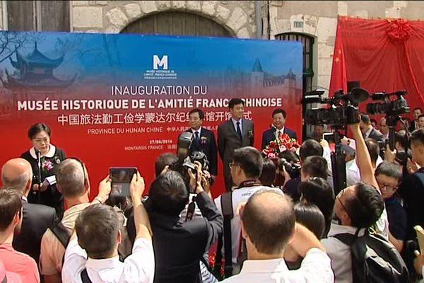 Les Chinois viennent d'investir 1 million d'euros pour créer, en plein coeur de Montargis, le musée de l'amitié franco-chinoise