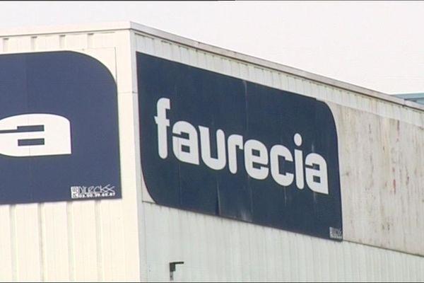 L'usine Faurécia à Hordain