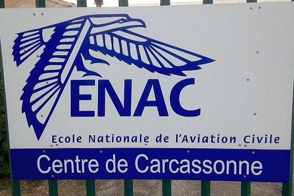 Carcassonne-Salvaza (Aude) -les locaux de l'Ecole nationale de l'aviation civile - 2016.