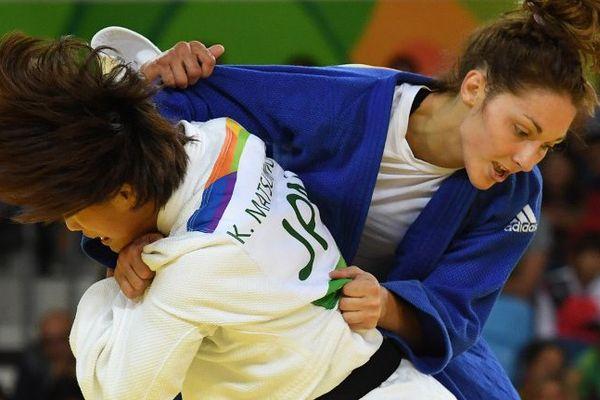 La Carcassonnaise Autonme Pavia a été battue par la Japonaise Kaori Matsumoto en quart de finale à Rio - 8 août 2016