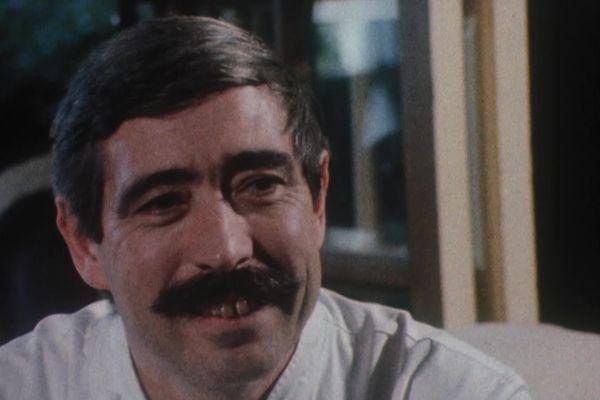 Le chef Michel Lorain, en 1983.