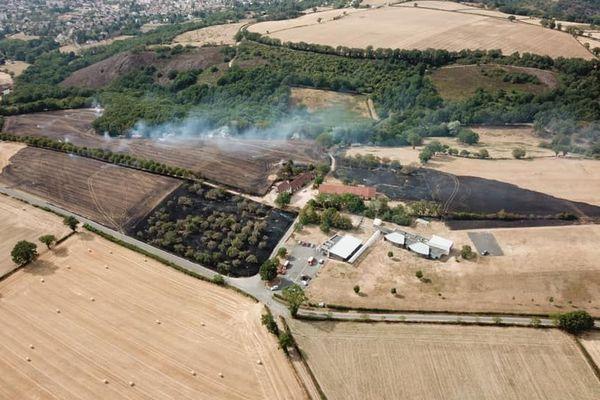 Depuis début juillet, les pompiers de l'Allier sont sur le qui-vive en raison des incendies liés à la sécheresse.