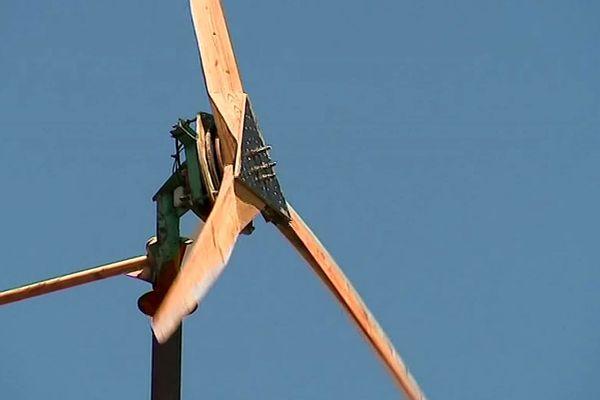 Lozère : apprenez à construire votre éolienne Pigott vous-même à Florac - 2019.