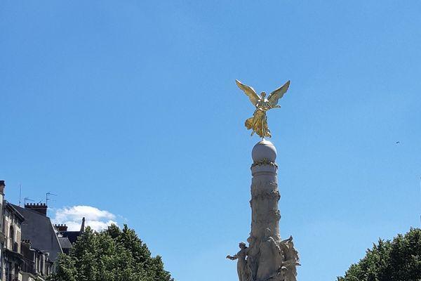 La place d'Erlon à Reims