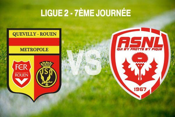 AS Nancy Lorraine vs Quevilly-Rouen Métropole
