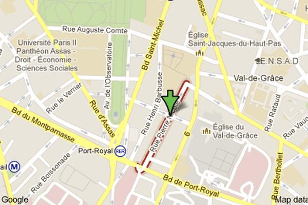 rue Pierre Nicole, 75005 Paris.