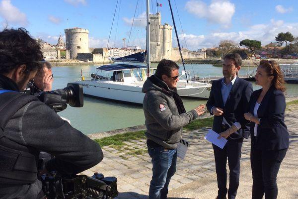Sandrine Valéro et David Lestoux à La Rochelle