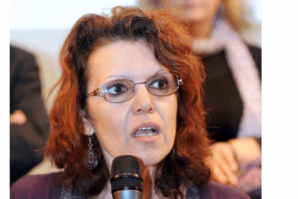 Marie-Christine Vergiat, tête de liste Front de gauche aux élections européennes dans le Sud Est