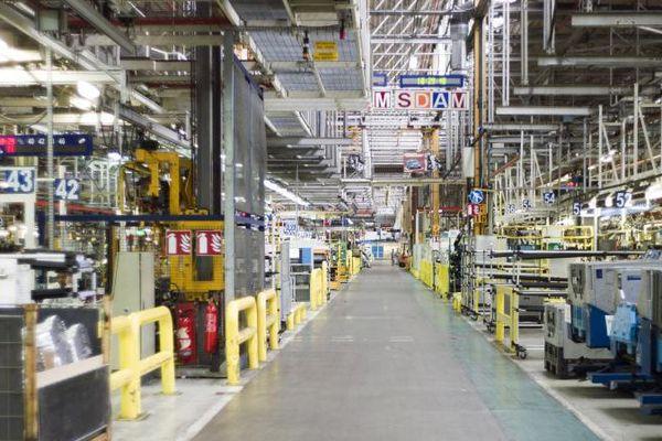 L'usine PSA d'Aulnay-sous-Bois (Seine-Saint-Denis)