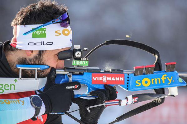Martin Fourcade remporte la masstart d'Oberhof comptant pour la coupe du monde de biathlon.