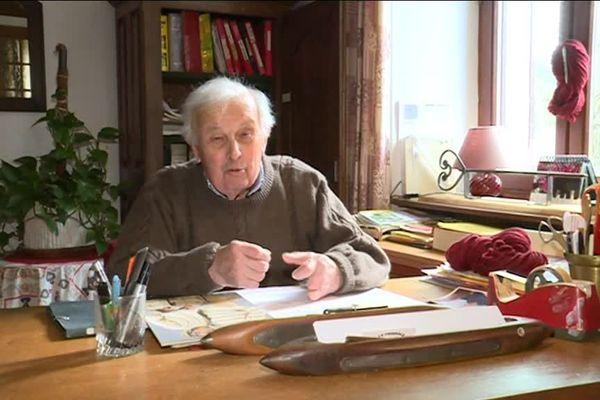 Louis Dauny est adjoint au maire des Grands-Chézeaux, en Haute-Vienne, depuis 30 ans