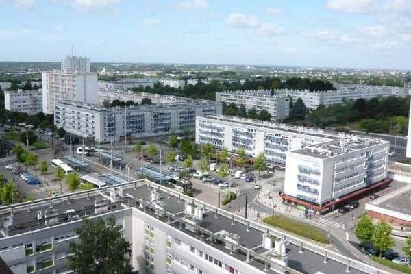 Le quartier Bellevue à Nantes / Saint-Herblain