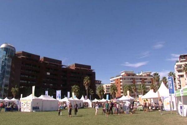 """Le festival """"refaisons le climat"""" à Montpellier."""