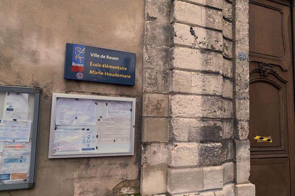 Ecole Marie Houdemare rue Beffroy à Rouen
