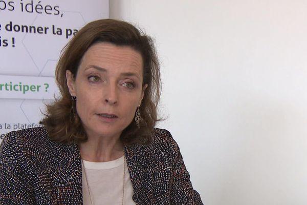 Hélène Lazzaret, candidate à Biscarosse dans les Landes