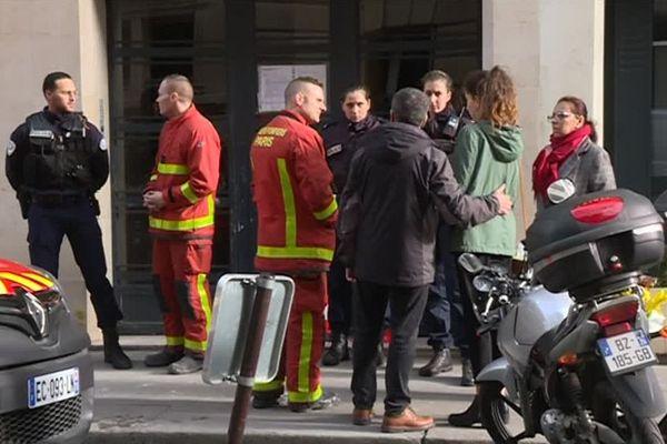 Sarra Chiraz est une rescapée de l'incendie rue Erlanger (Paris 16e).