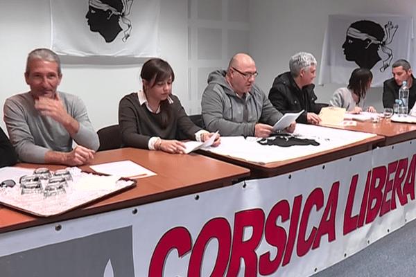 Les militants de Corsica Libera se réunissaient ce samedi à Île-Rousse