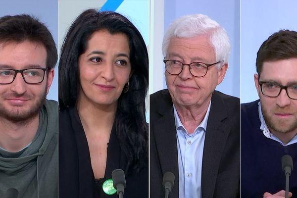 Jordan Bouchoucha,  Karima Delli, Jean-Michel Stievenard et Guillaume Jourdain sont les invités de l'émission de dimanche 9 février.