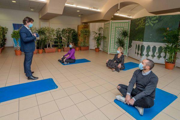 Des ateliers de sophrologie sont organisés à la demande dans toute la Métropole.