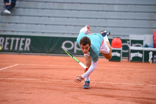 A Roland Garros, première victoire dans un tournoi du Grand Chelem pour Hugo Gaston