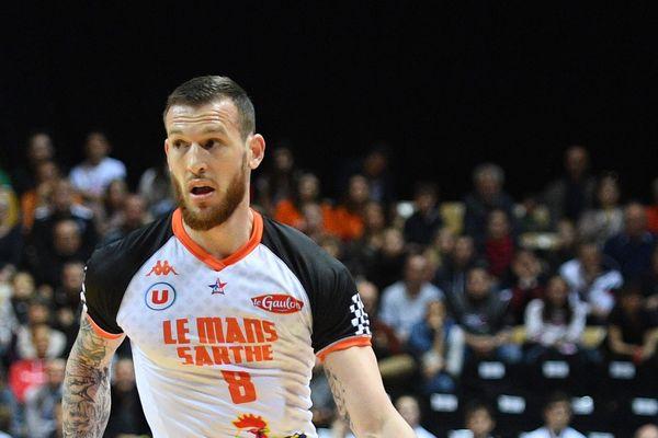 Antoine Eito, le capitaine du Mans Sarthe Basket.