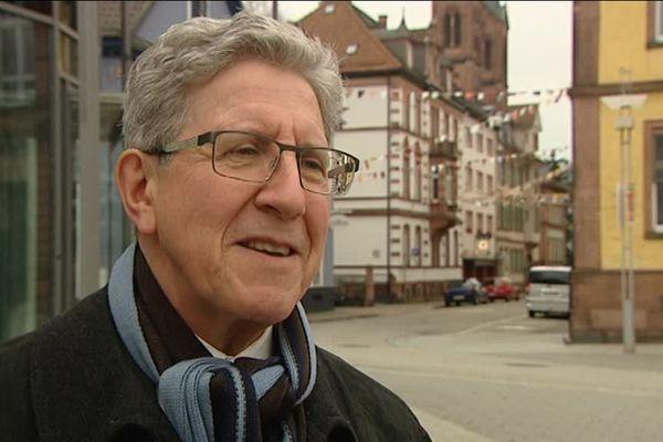 Wolfgang Mülle, maire de Lahr