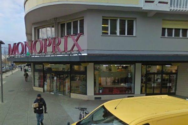 Le Monoprix situé à l'angle de la rue Charles Lory et du boulevard J. Vallier a été braqué en fin d'après midi