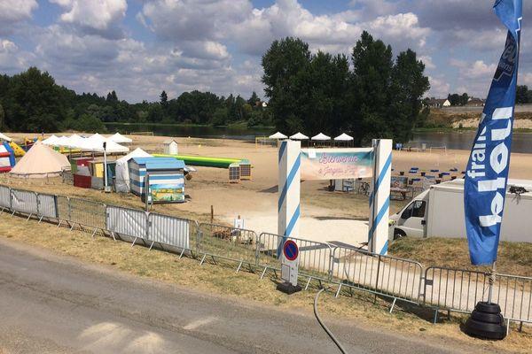 Jargeau Plage jusqu'au 2 août - Loiret