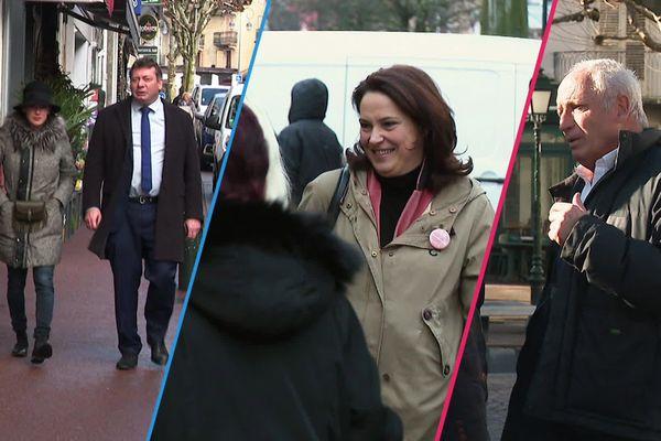 Dimanche en Politique reçoit cette semaine les trois principaux candidats au fauteuil de maire d'Aix-les-Bains