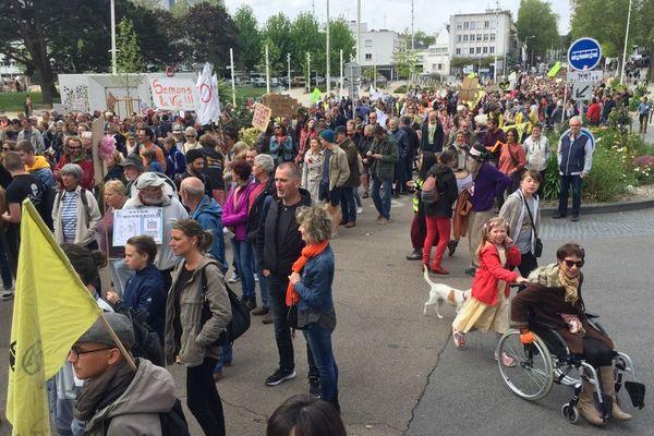 Des centaines de personnes ont défilés à Lorient