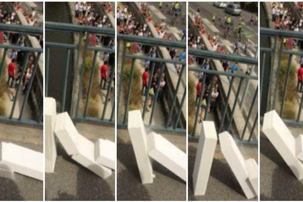 le passage des dominos à Rennes