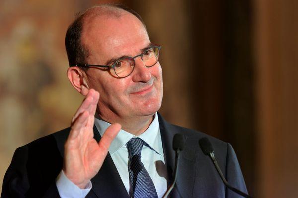 Jean Castex à l'occasion d'une visite ministérielle à Toulouse en octobre 2020.