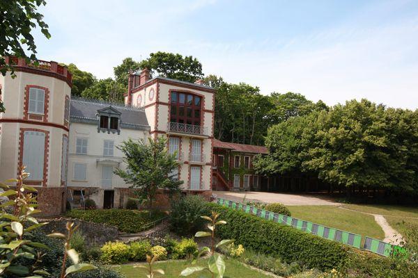 La maison d'Emile Zola, à Medan, dans les Yvelines.