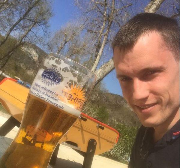 Amateur de bonnes bières, Gabin Finantz essaye de s'en passer en janvier.