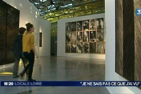 """Exposition """"Je ne sais pas ce que j'ai vu"""" à la Cité du Design de St-Etienne"""