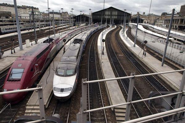 Le centre de maintenance du Landy, à Saint-Denis, est chargé d'entretenir les TGV de l'axe Nord, l'Eurostar et le Thalys (illustration : gare du Nord).
