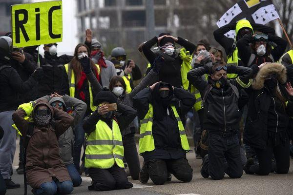 L'acte VII des Gilets jaunes à Nantes