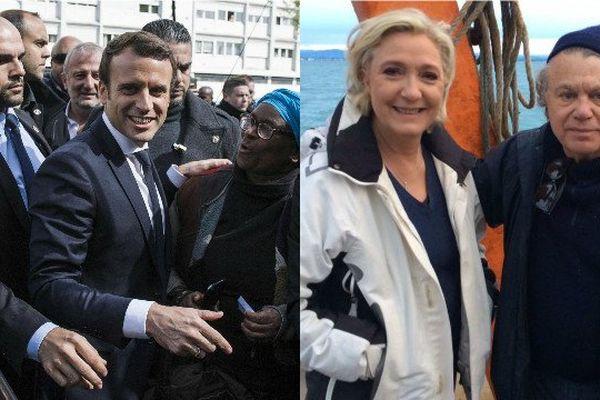 Emmanuel Macron et Marine Le Pen poursuivent leur mano a mano à distance.