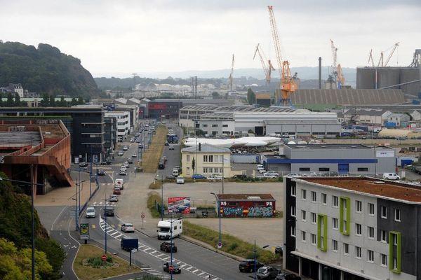 Le port de Brest (août 2016)