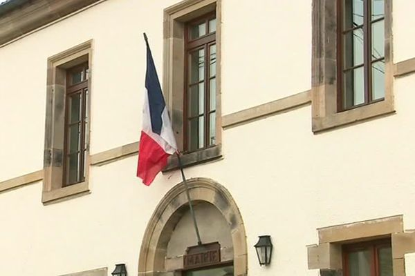 La mairies des Voivres, dans les Vosges
