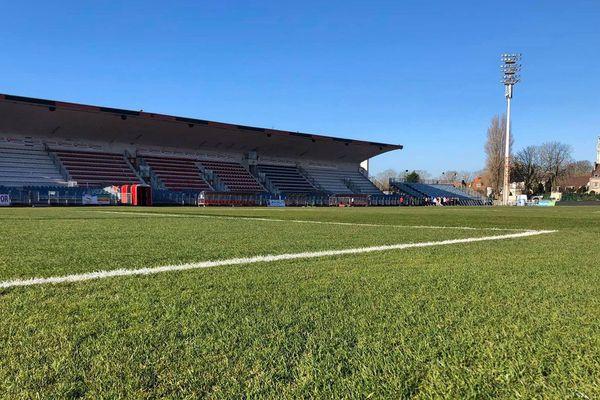 Le stade de la Libération à Boulogne-sur-Mer