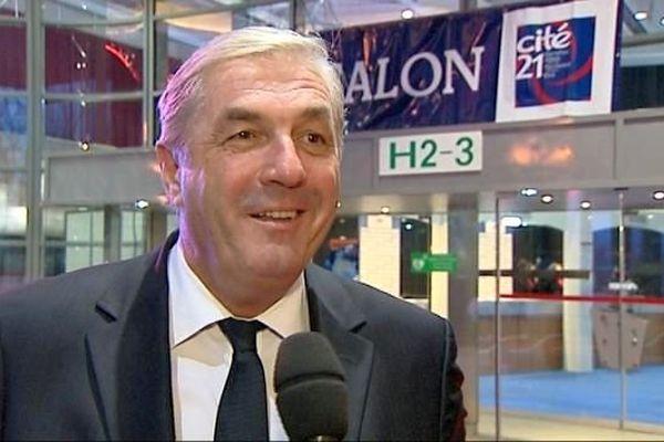 François Sauvadet, président du conseil général de Côte d'Or et président du groupe UDI à l'Assemblée nationale
