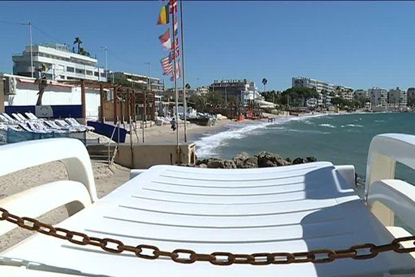 10 plages privées de Juan-les-Pins ont définitivement fermé ce dimanche