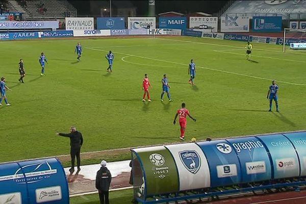 La rencontre entre Niort et Béziers s'est achevée sur un score de 0 à 0.